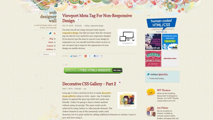webdesignerwall.com Web Design Blog