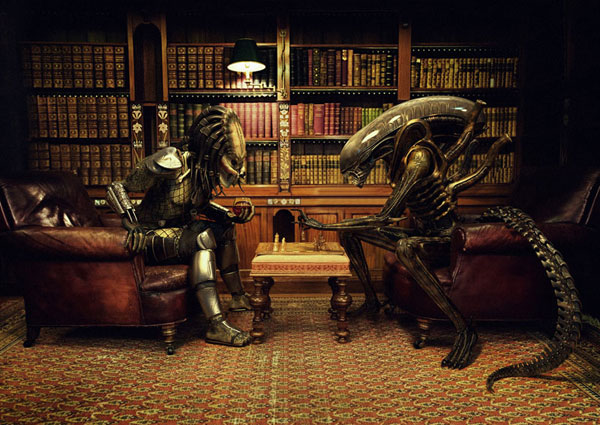 Alien Vs Predator - Chess
