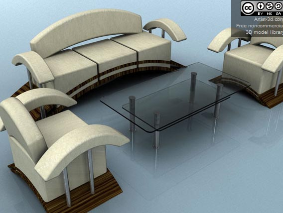 Free 3d Furniture Models Available For Download