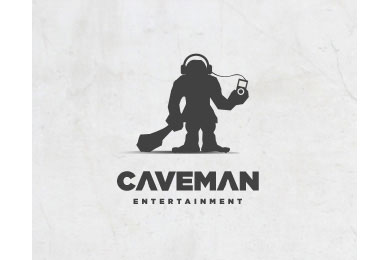 caveman entertainment logo