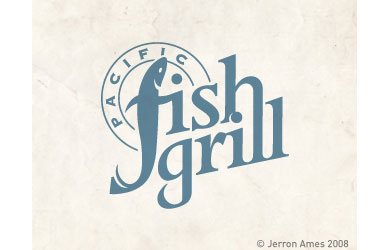 Pacific Fish Grill logo