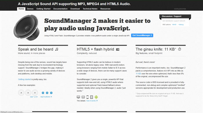 jQuery And Audio On Web - 20 Audio Player Plugins