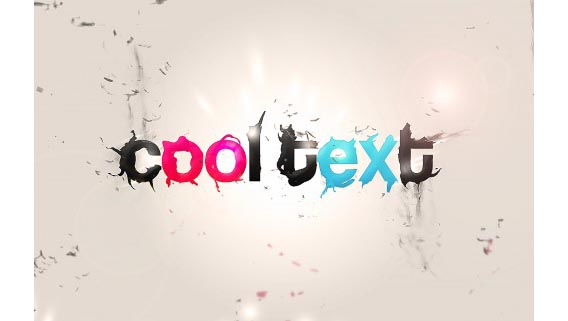 Line Art Effect Photoshop Tutorial : Photoshop typography tutorials ways to create cool text effects