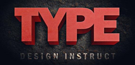 photoshop tipografia