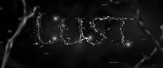 Create Destructive Black and White Lettering with a Dramatic Splash Effect