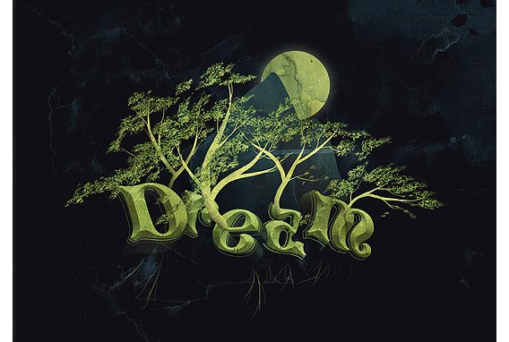 Create a Dream Design with 3D Typography