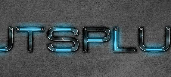 Create a Futuristic, Grungy Metal Text Effect in Photoshop