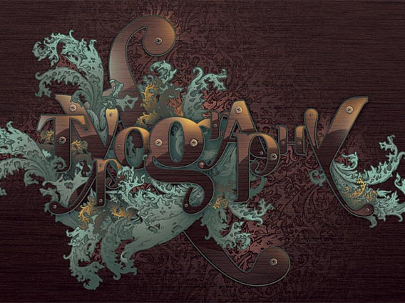 How to Create a Richly Ornate Typographic Illustration