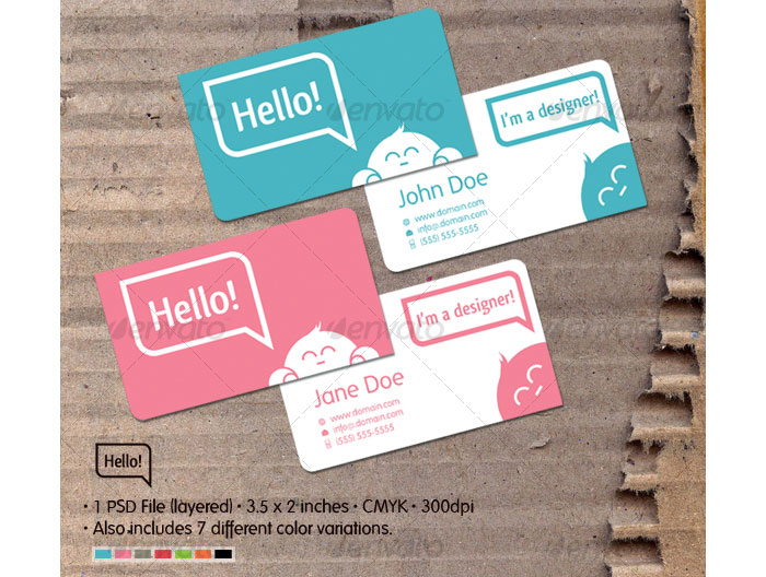The classiest and well designed printable business cards templates 40387 the classiest and well designed printable business cards templates wajeb Images