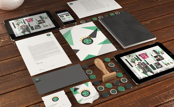 fc wurzburg identity design print design inspiration - Graphic Design Portfolio Ideas