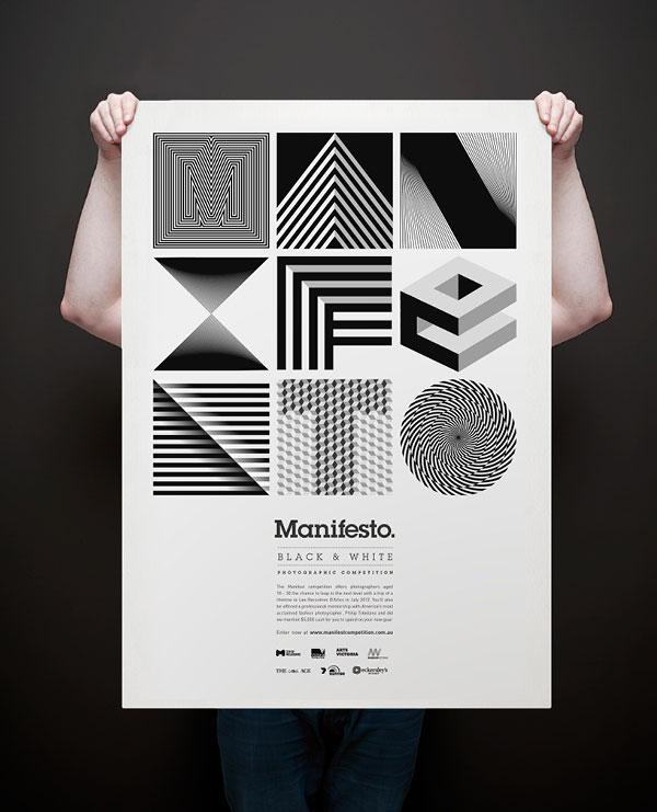 Manifesto 1 Print Design Inspiration