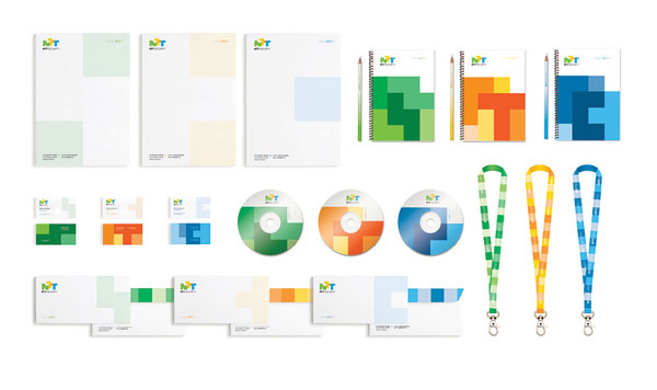 NTT Security Print Design Inspiration