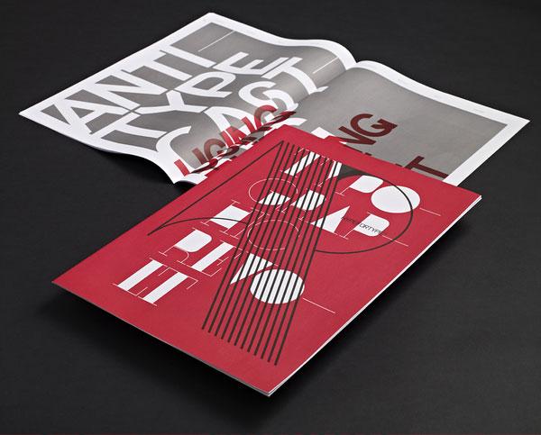 Typographic Revolt - HypeForType Typefaces 1 Print Design Inspiration