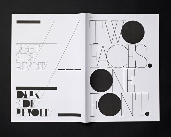 Typographic Revolt - HypeForType Typefaces 3 Print Design Inspiration