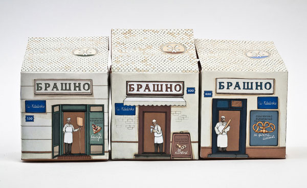 Flour - package design Print Design Inspiration