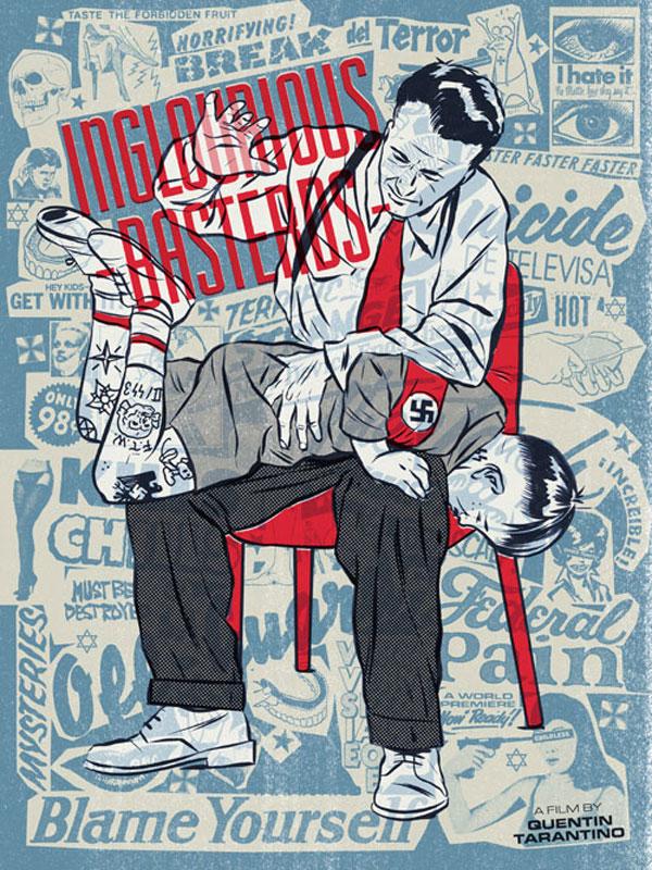 Inglorious Basterds Posters2 Beautiful New Print Design Inspiration