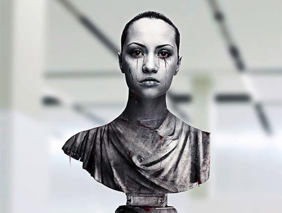 create-a-greek-sculpture-using-stock-photography-and-photoshop 91 Photoshop Photo Manipulation Tutorials: Become A Pro