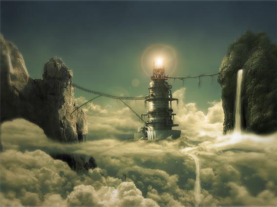 creating-a-cloudy-dream-scene 91 Photoshop Photo Manipulation Tutorials: Become A Pro