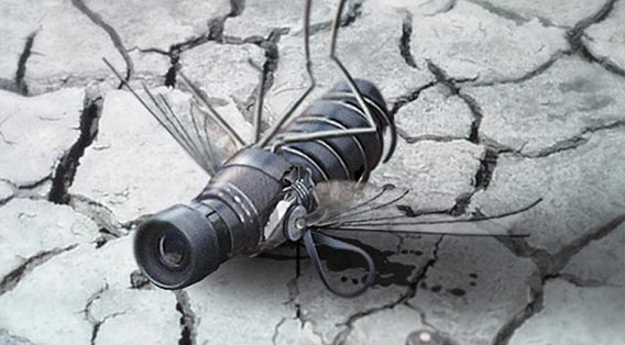 creating-a-spy-fly-photo-manipulation 91 Photoshop Photo Manipulation Tutorials: Become A Pro