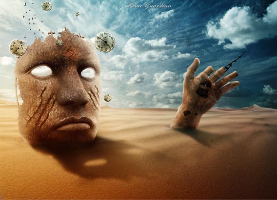 design-a-surreal-desert-scene-in-photoshop 91 Photoshop Photo Manipulation Tutorials: Become A Pro
