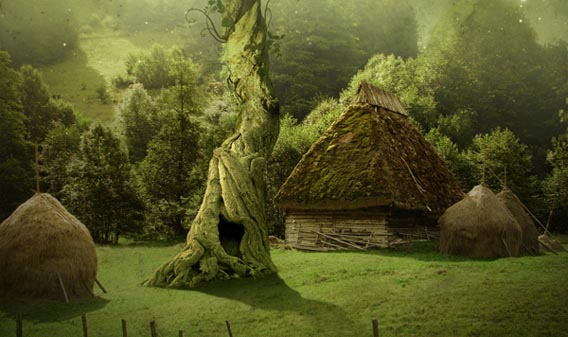 Real Fairytale Landscapes 91 Photo Manipulation ...
