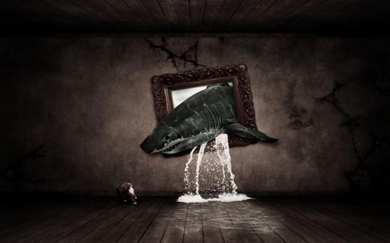 out-of-bounds-surreal-photo-manipulation 91 Photoshop Photo Manipulation Tutorials: Become A Pro