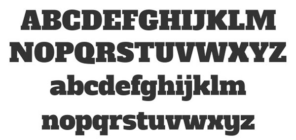 Alfa Slab Free Headline Bold Font available for Download