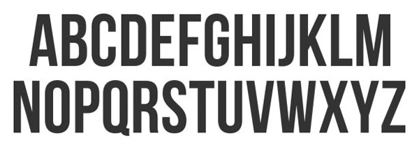 Bebas Neue Free Headline Bold Font available for Download
