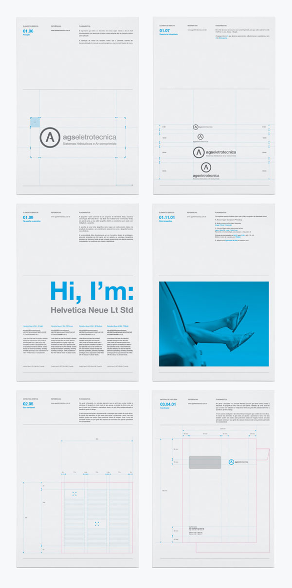 Brand Identity - Agseletrotecnica Brazilian Designer Inspiration