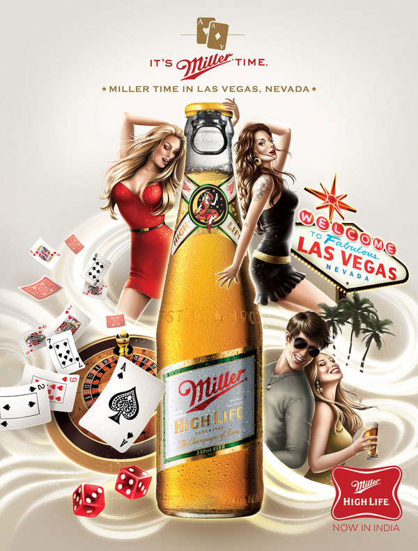 Miller advertising Brazilian Designer Inspiration