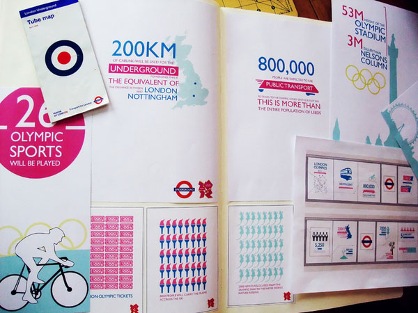 London Olympics 2012 Infographics by British Designers
