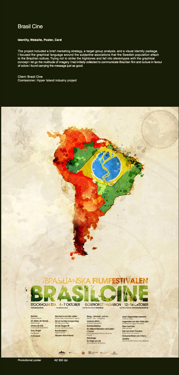 Brasil Cine by British Designers