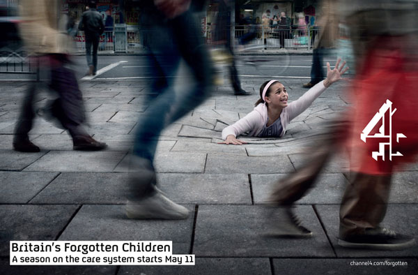 Britain's Forgotten Children Print ad