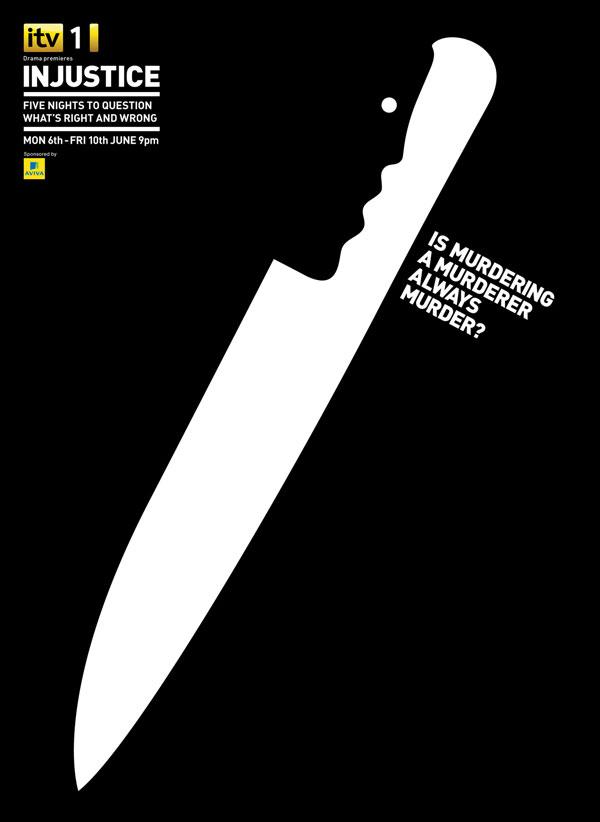 ITV Injustice Print ad