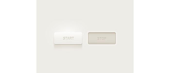 Light Button User Interface Design Inspiration