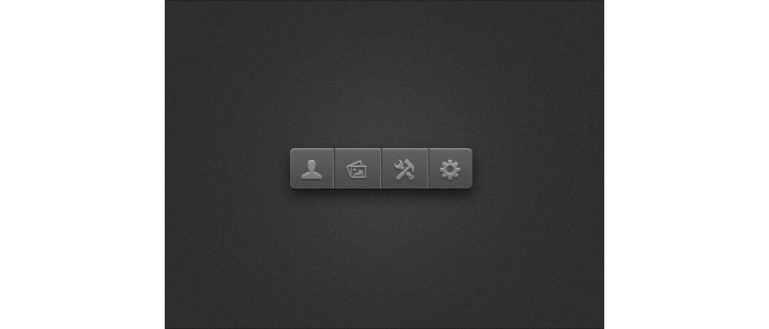 Little Toolbar User Interface Design Inspiration