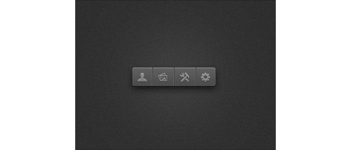 Little Toolbar User Interface Design Inspiration