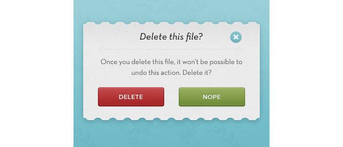 Modal Pop-up User Interface Design Inspiration