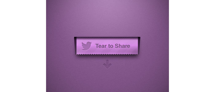 Tear To Share User Interface Design Inspiration