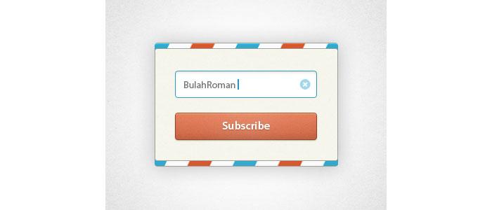 Newsletter Candy UI Rebound User Interface Design Inspiration