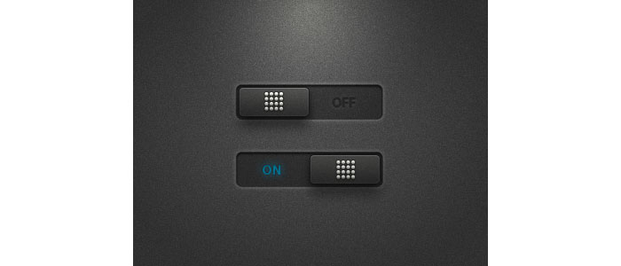 ON-OFF User Interface Design Inspiration