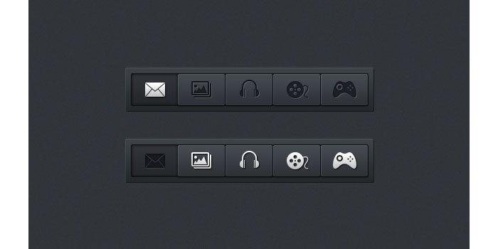 Horizontal Navigation Menus User Interface Design Inspiration