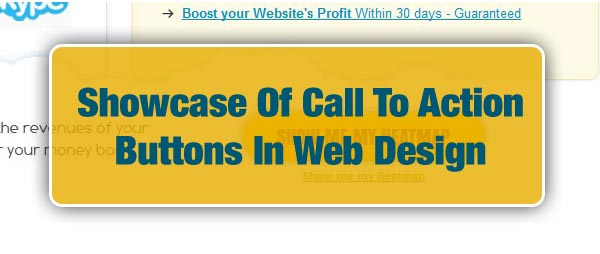 Showcase Of Call To Action Buttons In Web Design