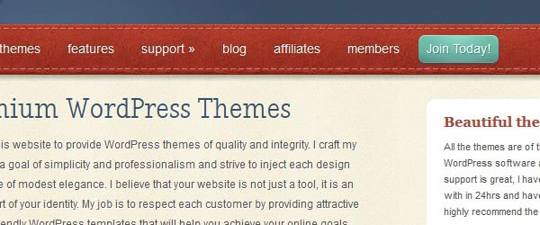 elegantthemes.com Call to action button