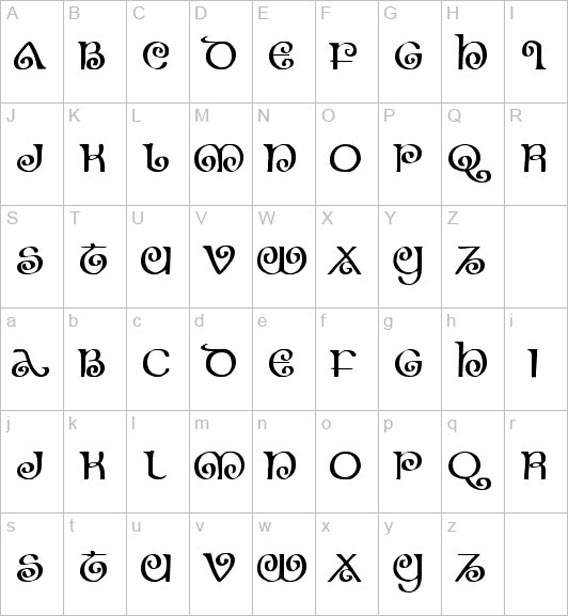 Free Celtic Fonts To Download 41 Examples