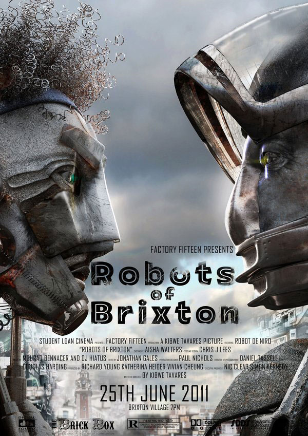 Robots of Brixton Character Design Inspiration