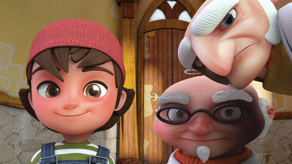 Zac and Penny Character Design Inspiration