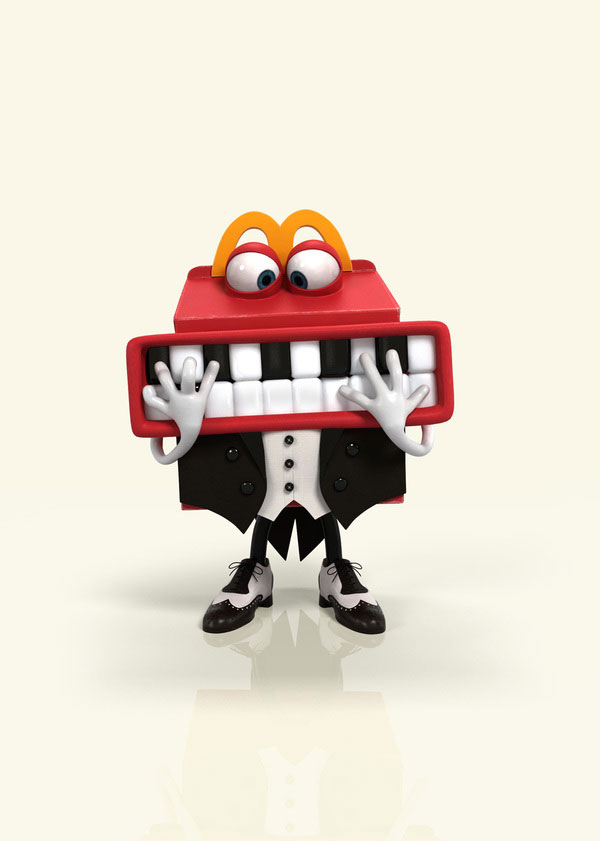 Happy meal Character Design Inspiration