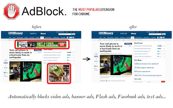 AdBlock Chrome App or Extension