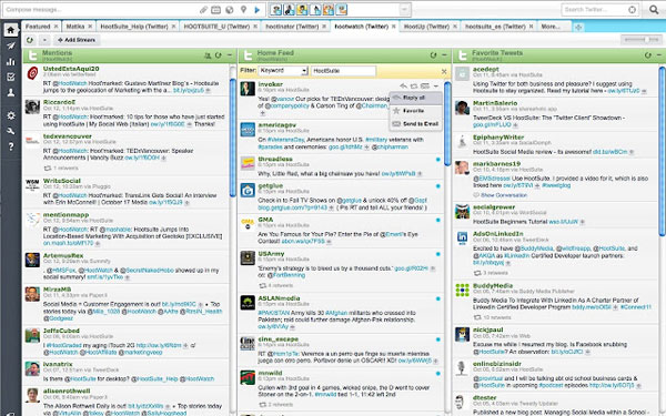 HootSuite Chrome App or Extension